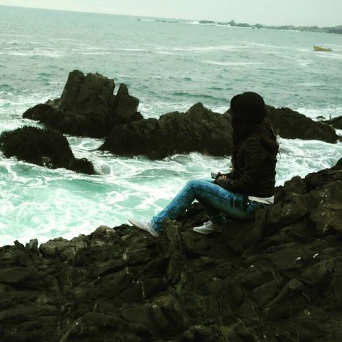 La vida es cuesta arriba, pero la vista es hermosa 😊💕💕💕 Instachile Caletaeltoro Desembocadurariolimari Cuartaregionchile Ovalle