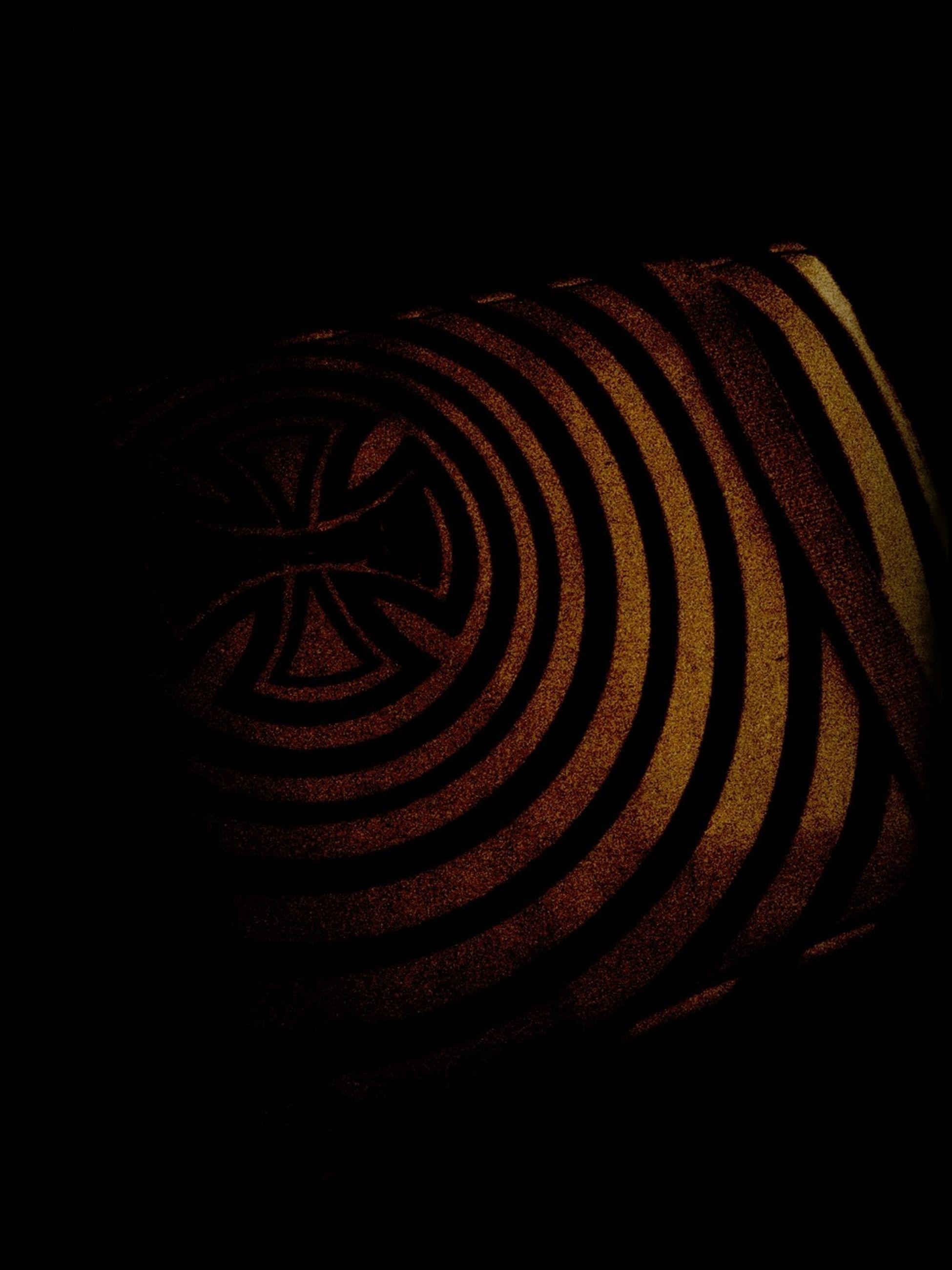 pattern, night, illuminated, black background, indoors, studio shot, design, abstract, dark, art and craft, close-up, creativity, art, no people, copy space, light - natural phenomenon, shape, backgrounds, decoration, full frame