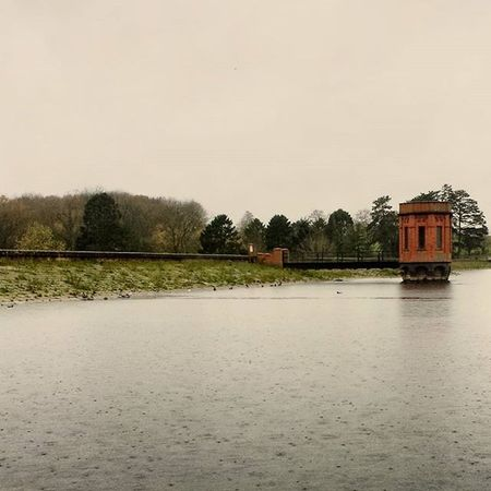 Rain RainyDay Uk Northampton Lake Lighthouse Reflection Water Naturewatch Natural Trees Park