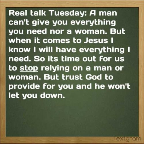 Real Talk Tuesday