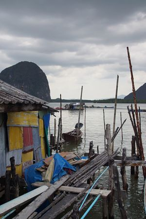 Floating village Thailande Sea Fishermen's Life Floatingvillage thailande Thailand_allshots Thailandtravel Houseonthewater House Waterfront