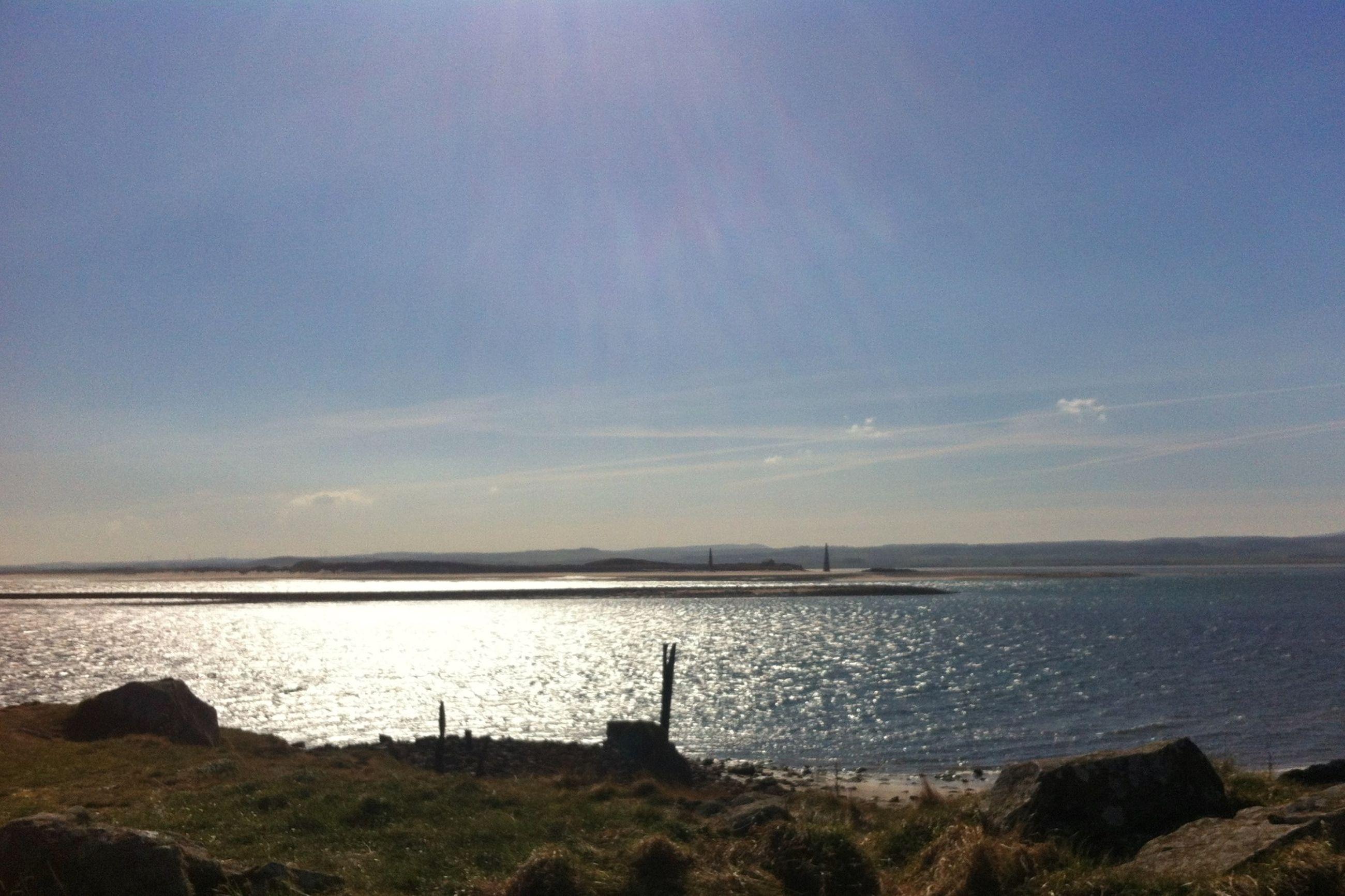 sea, water, horizon over water, tranquil scene, tranquility, scenics, sky, beauty in nature, nature, shore, idyllic, beach, rock - object, remote, outdoors, calm, non-urban scene, coastline, no people, cloud - sky