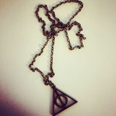 Necklace ChristmasGift Deathly Hallows Harrypotter Lovesit
