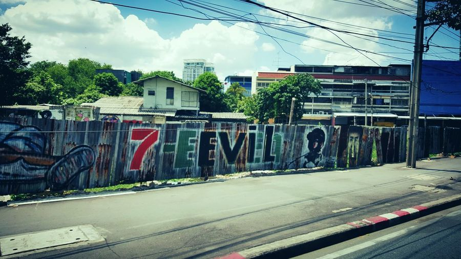 Bangkok Thailand Travel Photography Travelshots Street Photography 7Eleven  Street Streetphotography Streetart/graffiti Streetart Graffiti Graffiti Wall
