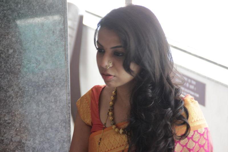 Me Marathi ! Indian Indianbeauty Indianculture IndianWedding Indoors  Lifestyles Marathi Portrait Traditional Clothing