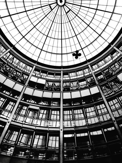 Architecture Transparent Indoors  Ceiling Geometric Shape Glass Glass - Material Architectural Feature Office Building Black And White Blackandwhite Black & White Blacknwhite Black&white Interior Views Interior Decorating Interior Interior Design Still Life Taking Photos Hanging Out HuaweiP9 Eye4photography  Mobilephotography Monochrome Photography Capture Berlin The Architect - 2017 EyeEm Awards