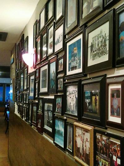 The Wall Of Photography Frames Glass And Images