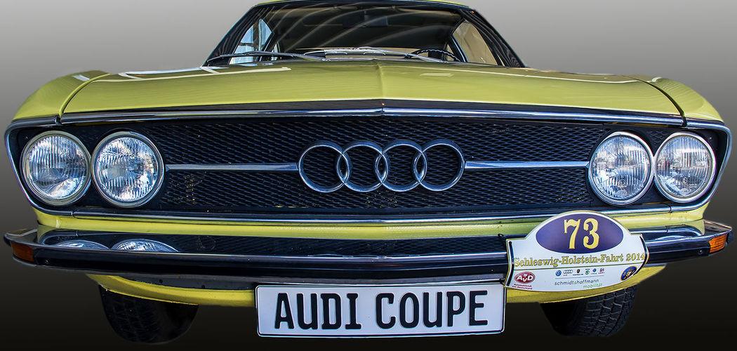 Audi Car Front View Mode Of Transport Oldtimer Retro Styled Sports Race Transportation