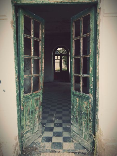 Old Doors Taking Photos Green Doors Abandoned Buildings Summer2015
