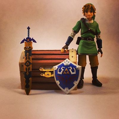 This is where Link keeps all his rupees.