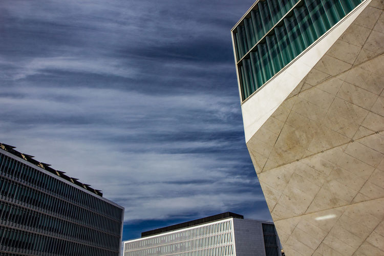 Architecture Building Exterior Built Structure City Cloud - Sky Day Low Angle View Modern No People Outdoors Sky