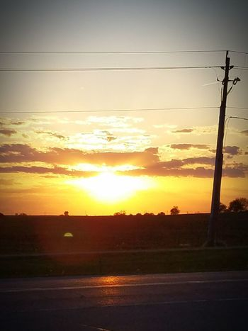 Midwestern Sunset MidWest Midwest Iowa Iowa Sunset Sunset #sun #clouds #skylovers Sky Nature Beautifulinnature Naturalbeauty Photography Landscape [a: [a:12602015] The Outdoor The Essence Of Summer