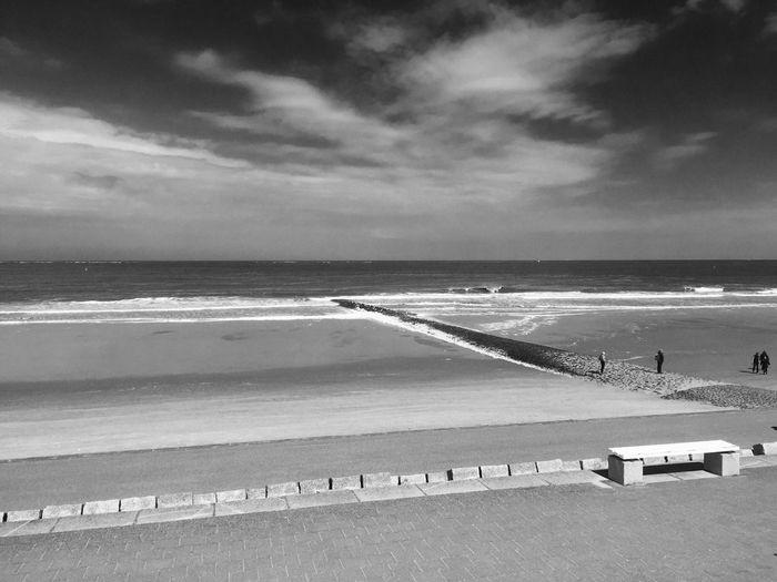 Sunny Beach On Norderney Island