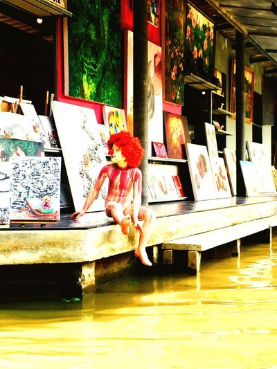ArtWork Art Clown Doll Exquisite Thailand EyeEm Diversity EyeEm Diversity Art Is Everywhere