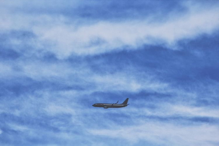 Flying Sky Transportation Airplane Cloud - Sky Low Angle View No People Nature Outdoors Day Air Vehicle Photography Canon Canonphotography Scenics West Palm Beach Florida Journey Flight Tranquil Scene