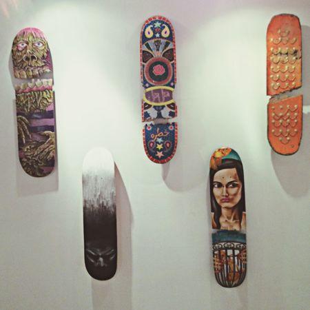 Urban Art By JUNIQE Skateboards