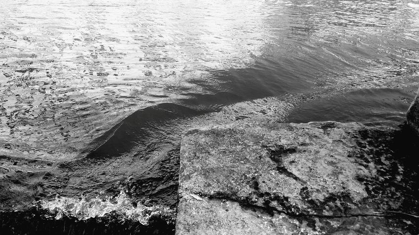 Water Nature Outdoors Textured  Sea Venice Waves Blackandwhite Black And White Black & White Black&white