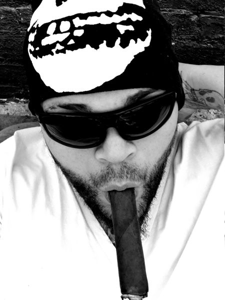 Black And White Self Portrait Relaxing Cigar Gurkha Note3 Check This Out Taking Photos LGG4 Lgg4photography Head And Shoulders