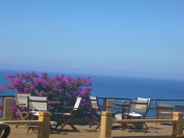 Beauty In Nature Blue Day Empty Horizon Over Water Idyllic Nature No People Ocean Outdoors San Stefanos, Corfu, Greece Scenics Sea Shore Sky Time To Sit, Take In The Scenery And Have A Cool Drink Tourism Tranquil Scene Tranquility Travel Destinations Vacations Water