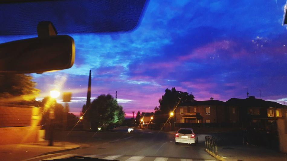 mira mi universo, y verás mis estrellas City Sunset Car Sky Cloud - Sky Architecture Building Exterior Galaxy Nebula EyeEmNewHere