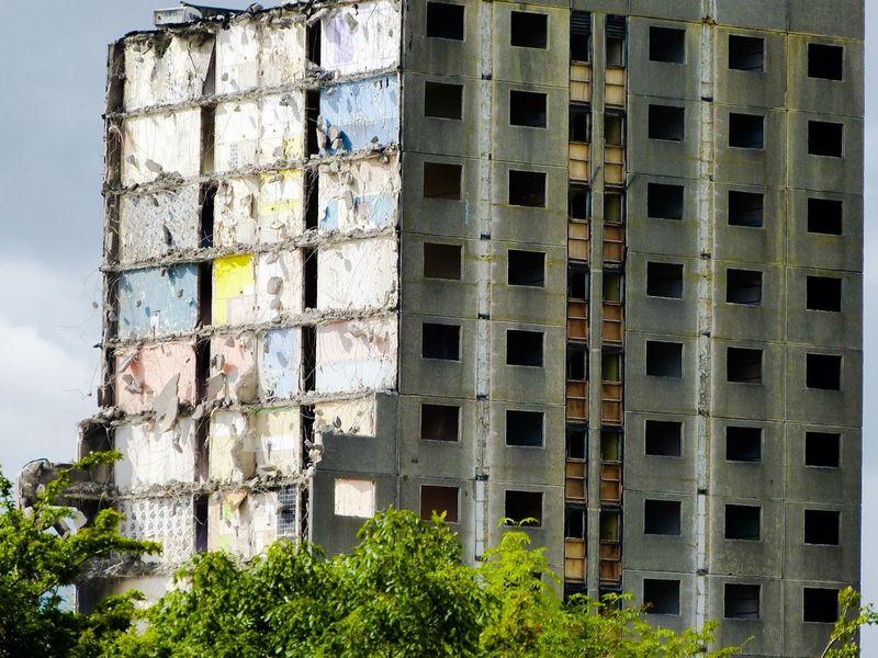 Architecture Building Exterior Day Exterior Outdoors Façade Demolition Regeneration Urban Regeneration