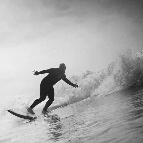 Adventure Beauty In Nature Black Blackandwhite Extreme Sports Japan Motion Ocean Outdoors Sea Surf Swell Water Watersports Wave Waves