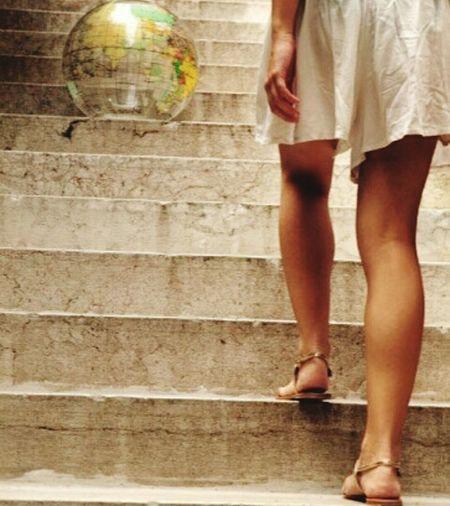 Buongiorno Mondo Mondo Lei Loveworld Hello World Take The Strairs Scale