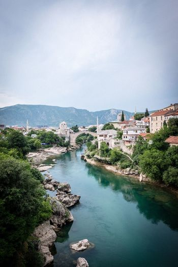 Mostar History Mostar Stari Most Water Architecture Building Exterior Building City Built Structure Sea Nature Beauty In Nature Outdoors