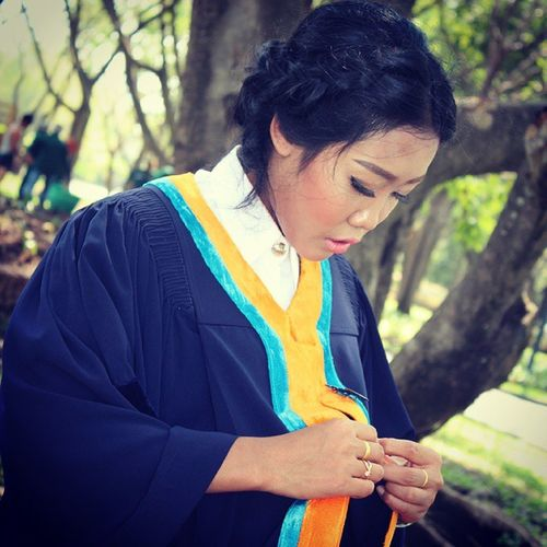 Graduation Graduationceremony Thaigirl Thaistudent