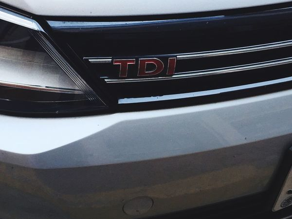 Tdi TDIpower VW Volkswagen Mexico Monterrey Transportation No People Close-up