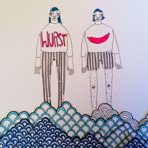 Illustration Wurst