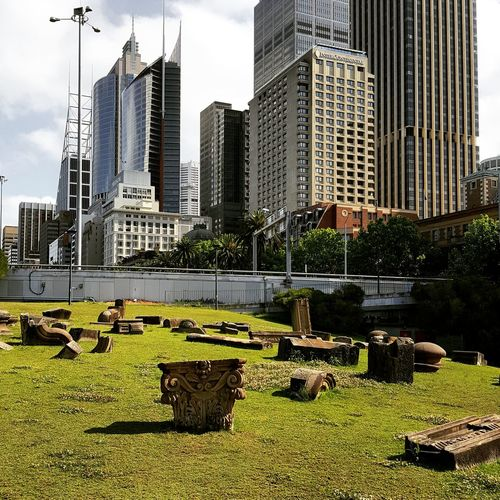 City Architecture Buildings & Sky Building Exterior View Hanging Out Buildings Cityscape Building City Life Modern Architecture Modern Sydney, Australia Sydney Ruin Historic Historical Building Historical History Ruins Australia