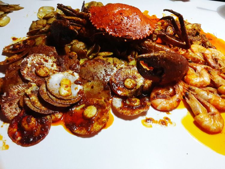 Seafood Timeat Shellout😊😊😁😁 Delicious Dinner Food Yummy Let's Eat Seafoods