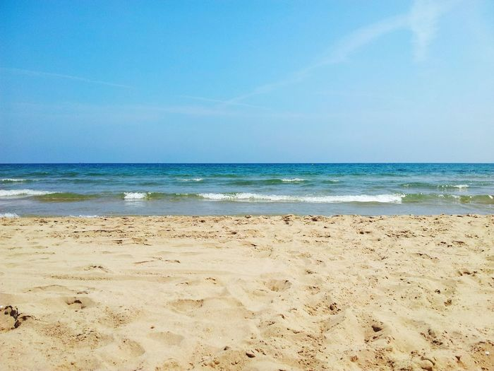 Ocean View Sand Italia Holidays Summer Sunshine 500px Powerfull Taking Photos Beautiful Nature Enjoying The View Blue Landscape Nature Sky Dreaming Day Warm Day Hot Burning In The Sun Time To Relax Time To Travel