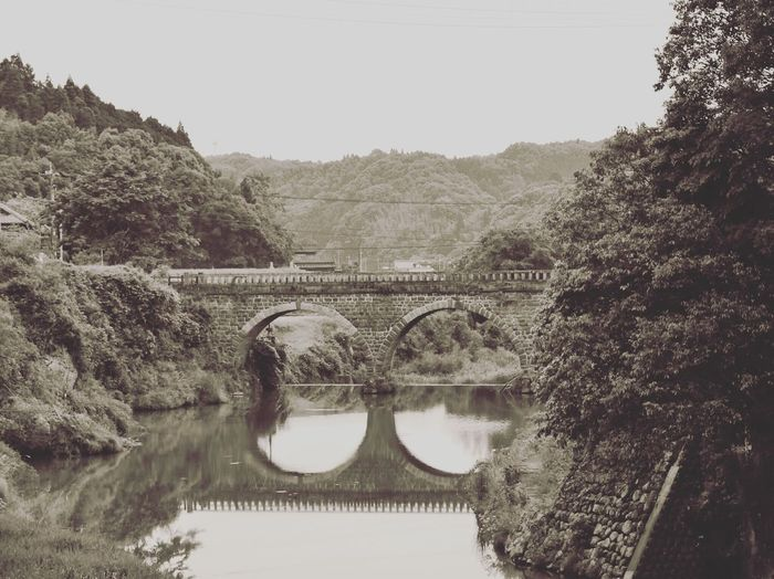 Japan 日本 EyeEm Nature Lover EyeEm Best Shots EyeEm Japan Tommy@collection OpenEdit Japan Photography 大分県 Bridge 石橋 石橋群 モノクロ Monochrome