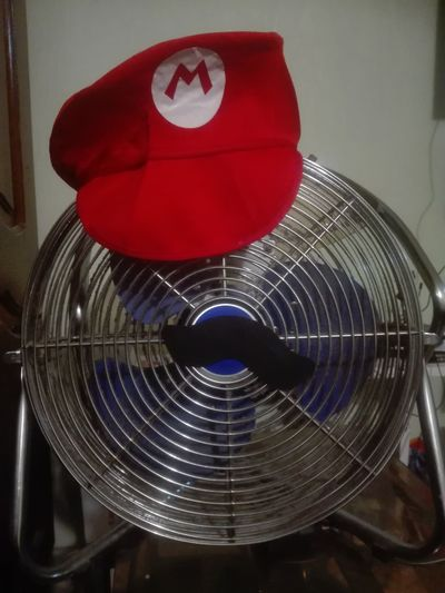 Booga ! Cappy style Fan Super Mario Mario Odyssey Cappy Booga Ventilateur Ventilator Indoors  No People Red Day Be. Ready. The Still Life Photographer - 2018 EyeEm Awards