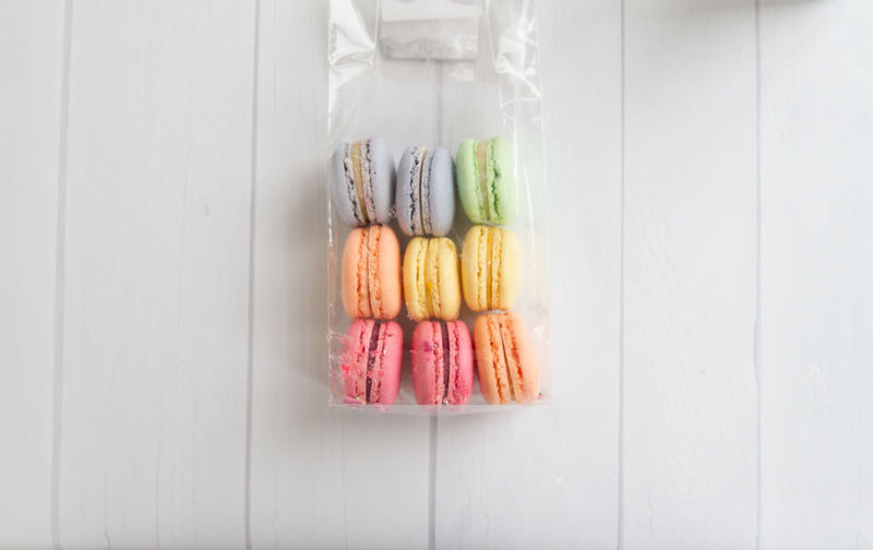 Bright Dessert Macarons Macaroons Treats Close-up Food French Macarons Gift Minimal Multi Colored No People