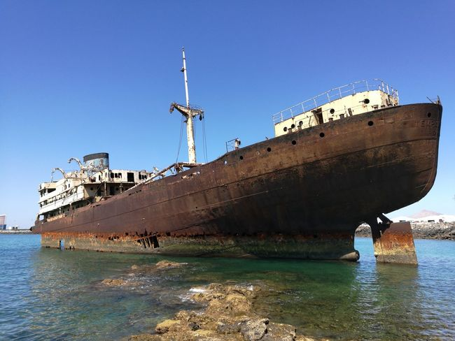 "Wreck of the Ship ""Temple Hall"""
