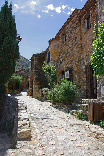 Architecture Castelnou Day Fortified Wall France History Nature No People Occitanie Outdoors Pie Sky Tradition Travel Travel Destinations Vieux Port Village Vintage