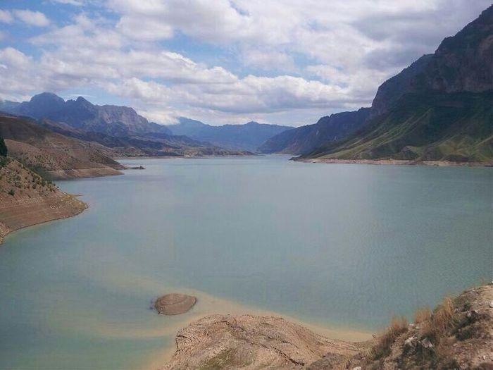 Dagestan Shamilkala Ирганайское водохранилище