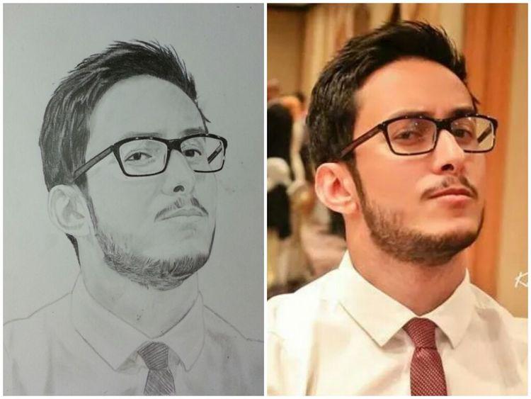 Drawing Portrait Pencilart My Drawing #sketching