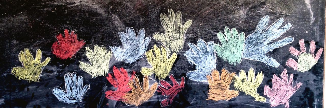 Black Board Hand Hands Children Drawing Child Drawing Draw Drawing ✏ Drawing Hands In My Class