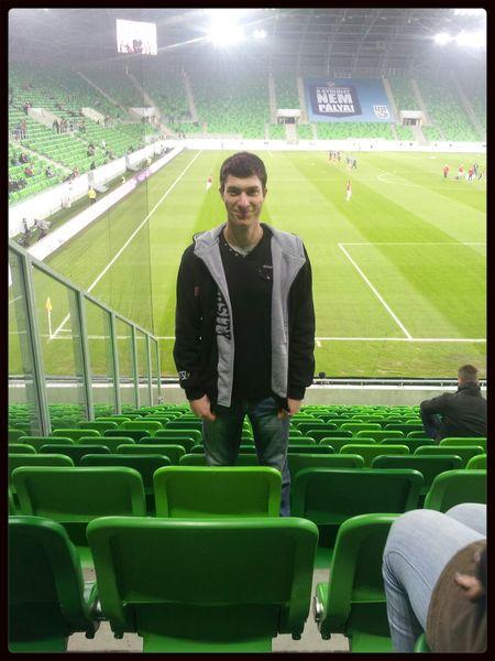 Magyar-Orosz sajna 2-1 Oroszoknak :/ Football Stadium Hello World
