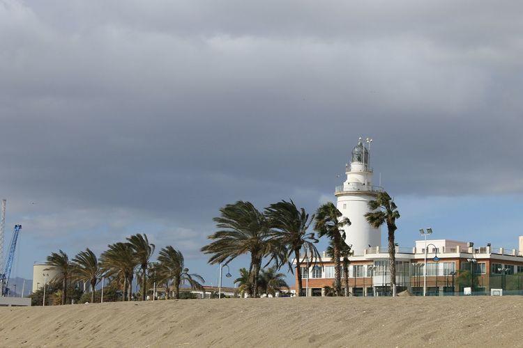 Malaga, España. Sea And Sky Seascape Travel Photography