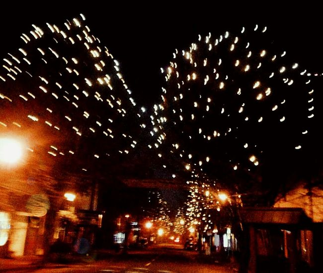 Illuminated Night 2016 EyeEm Awards City Christmas Lights Outdoors Inspiration Scenics Spot_lightz Razzle Dazzle Holidayseason Excitement Giddyness The Week On EyeEem Streamzoofamily Seriously Beautiful Delights Of Life Illumination World Focus On Foreground Pursuit Of Happiness The Way Forward Beautiful Lights EyeEm Master Class The Drive Building Exterior