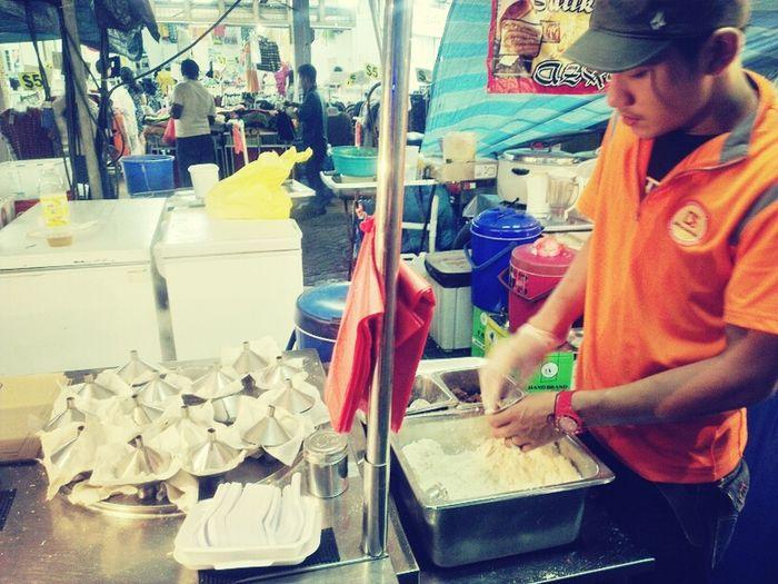 Singapore Street Food - Putu piring Night Market