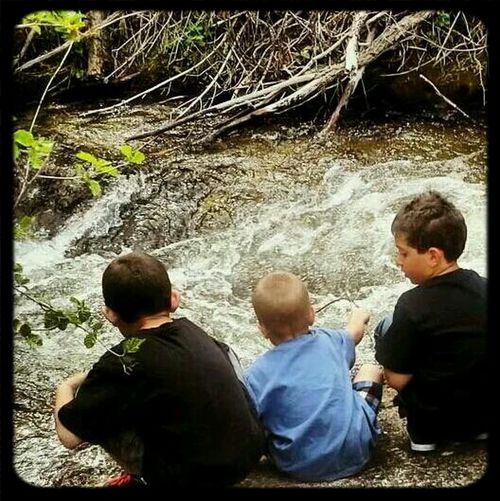 Enjoying Life Hanging Out Brothers <3 Water