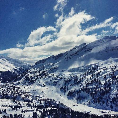 Perfect conditions Obertauern Skiing Ski Sunshine Perfectweather Sunrays