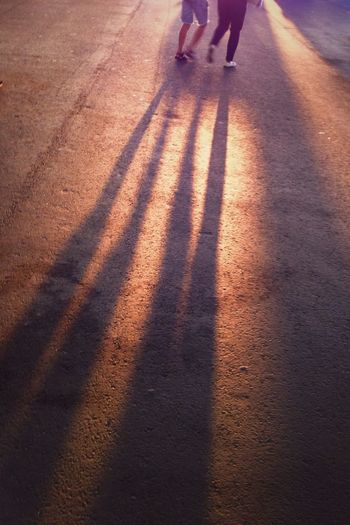 long shadows this evening. Light And Shadow Summer Sunset Streetphotography