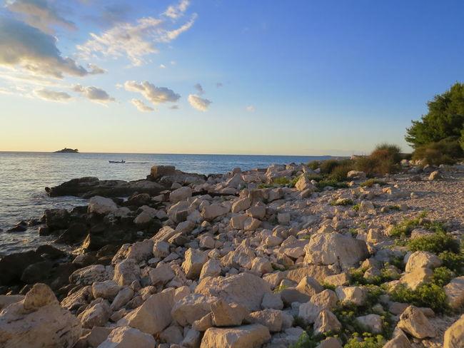 The KIOMI Collection Blue Wave Blue Sky Croatia Istria Rocks And Water Mediterraneansea Crveniotok Rovinj Croatiafulloflife Rovinj2016 Shareistria Croatia_photography Croatiafullofmagic Clouds Photography In Motion